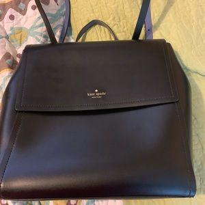 Kate Spade leather bookbag. New w/o tags